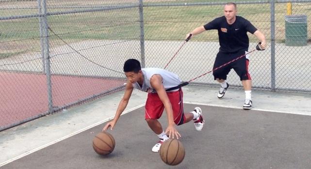 تمرینات انفرادی بسکتبال