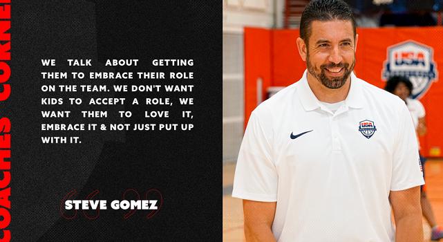 صحبت هایی با یک مربی:استیو گومز